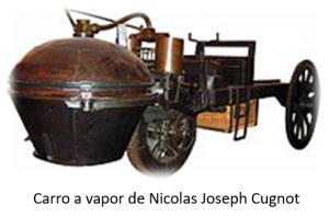 Primeiro carro a vapor