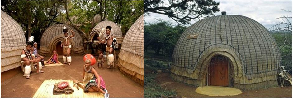 Habitações dos Zuluz