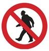 Passagem proibida a peões