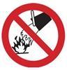 Proibição de apagar com água
