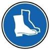 Protecção obrigatória dos pés