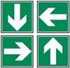 Indicação de direcção a seguir